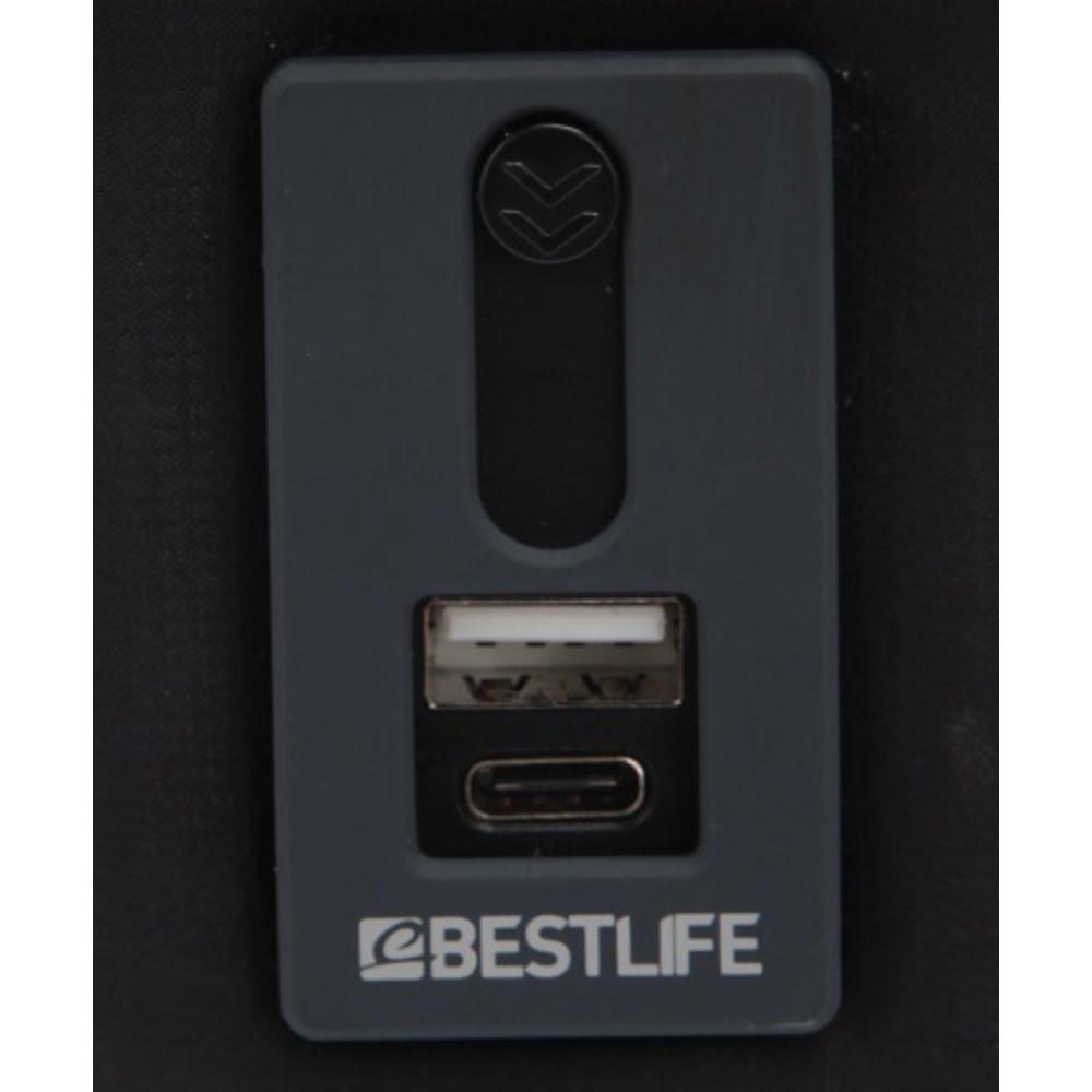 Geanta laptop BESTLIFE Cplus, 16 inch, charge pentru USB si TypeC