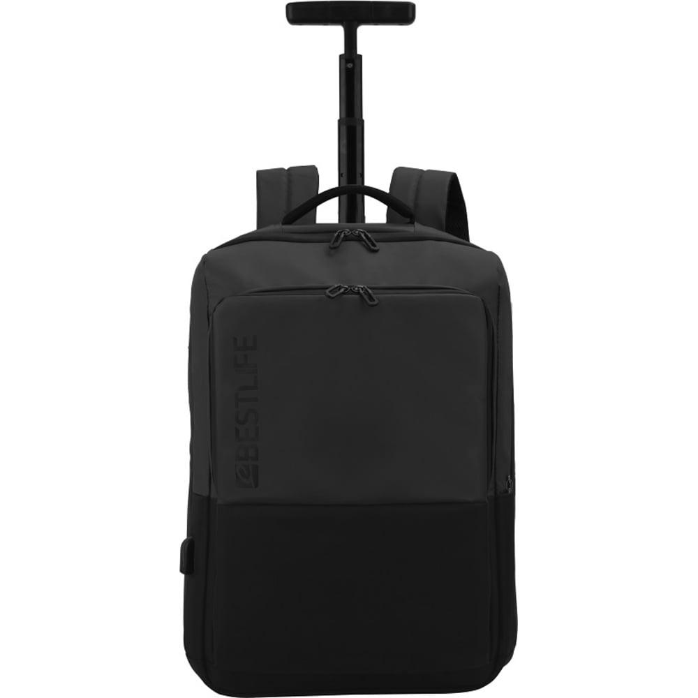 Rucsac troller pentru laptop BESTLIFE Neoton, 16 inch, charge pentru USB si TypeC
