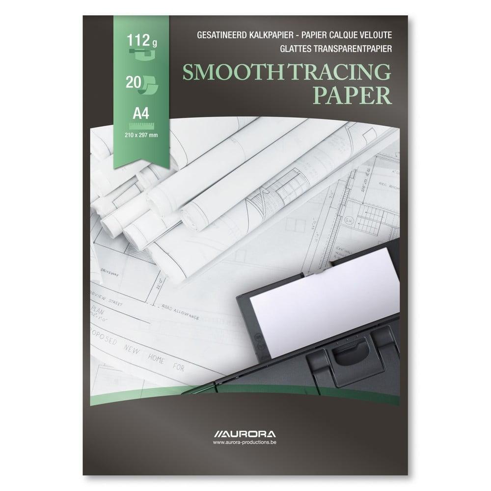 Hartie calc A4 pentru inkjet si laser, 20 file, AURORA Raphael