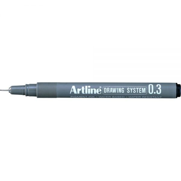 Marker varf fetru 0.3mm, pentru desen tehnic ARTLINE
