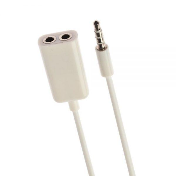 Cablu splitter 2 x 3.5mm/Jack, lungime 18cm