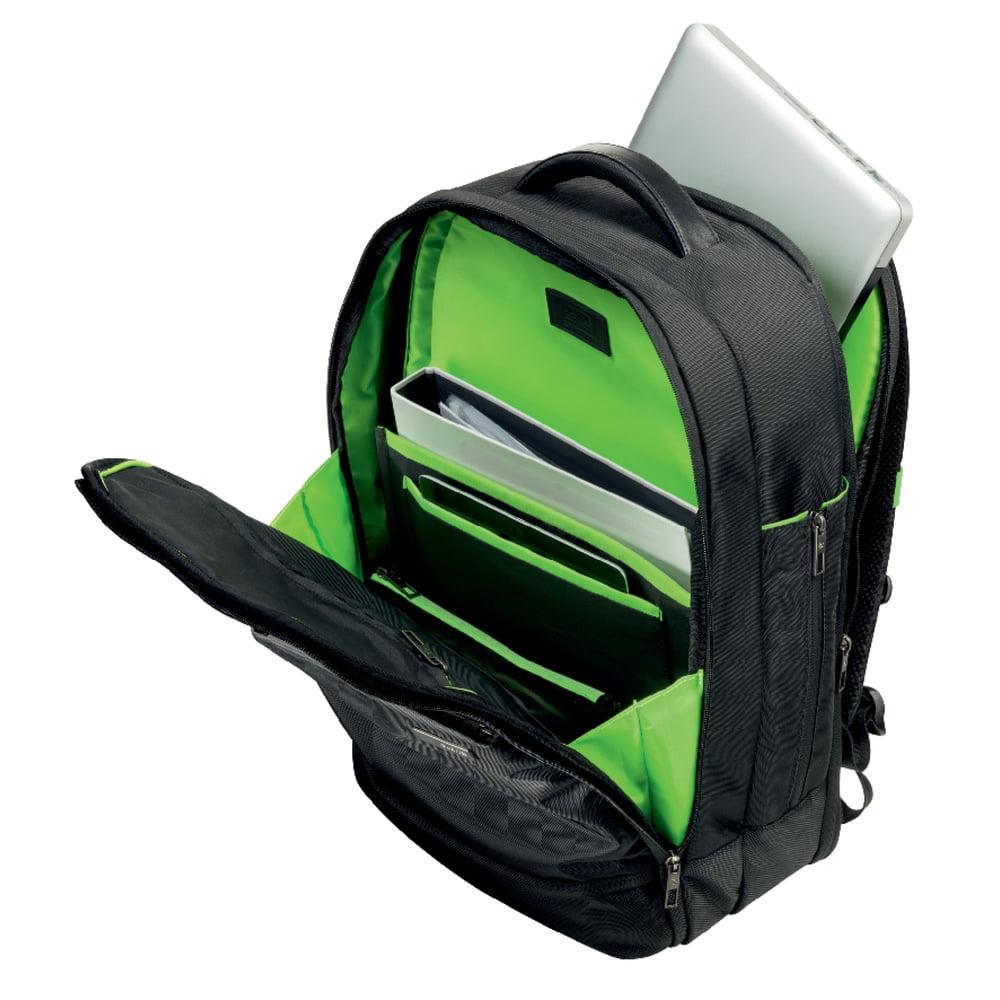 Rucsac laptop LEITZ Complete Smart Traveller, 17.3 inch, negru