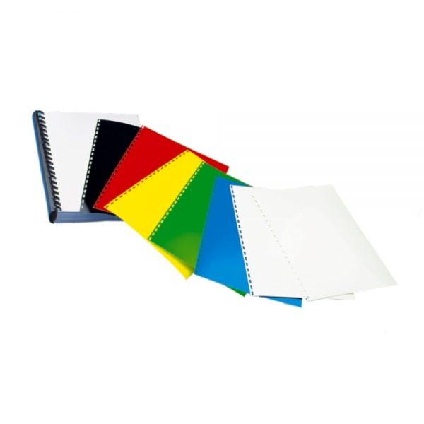 Coperta carton lucios A4, 250g/mp, 100/top OPUS - alb