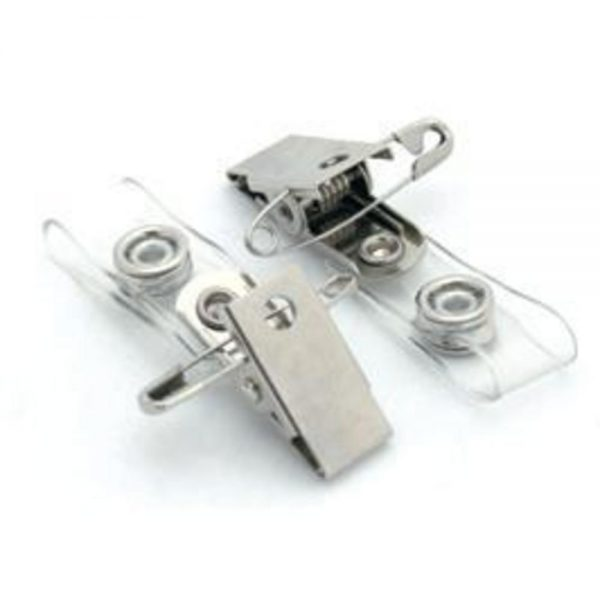 Clips metalic pentru ecuson OPUS