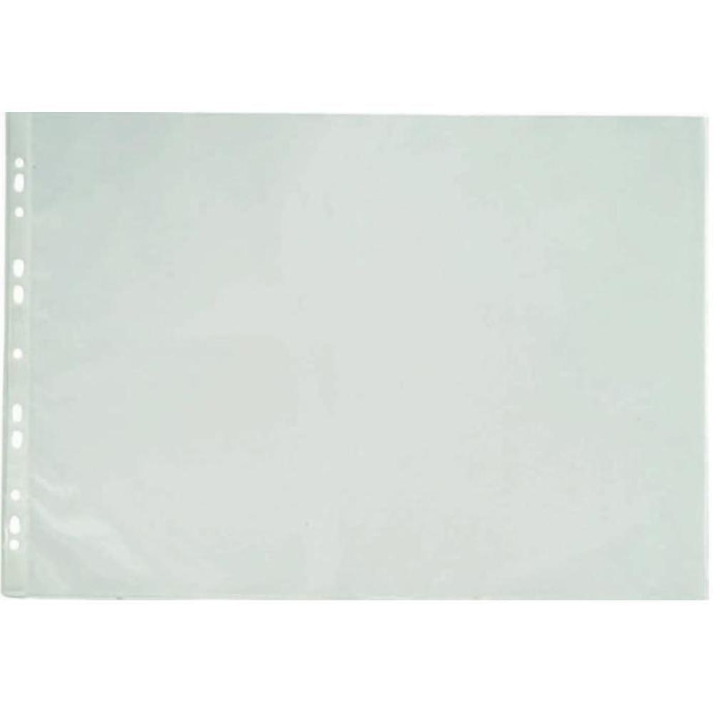 Folie protectie documente A3 portret, 90 microni, 25/set, Optima