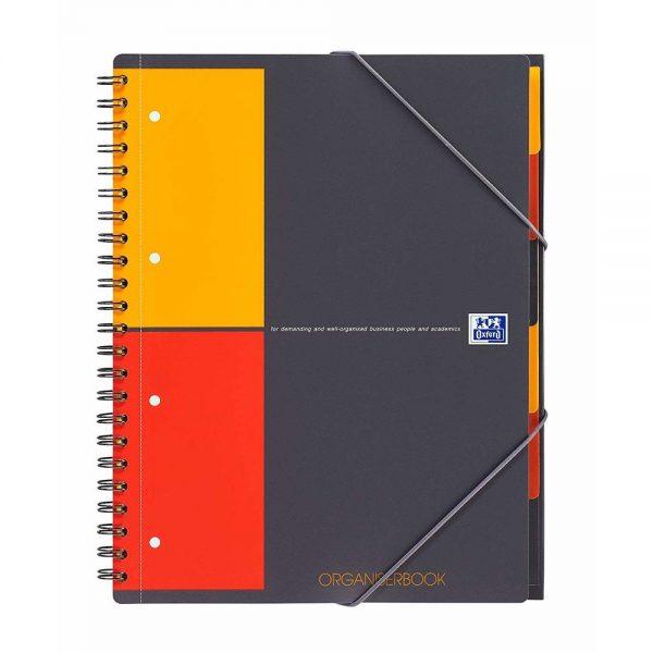 Caiet cu spirala dubla A4+, 80 file, OXFORD International Organiserbook