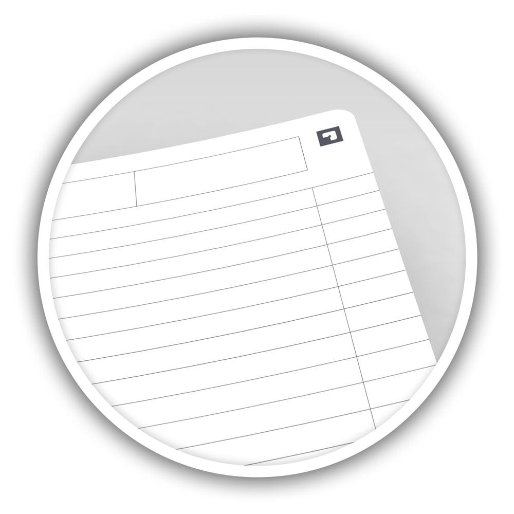 Caiet cu spirala A5, OXFORD Office Essentials, 90 file