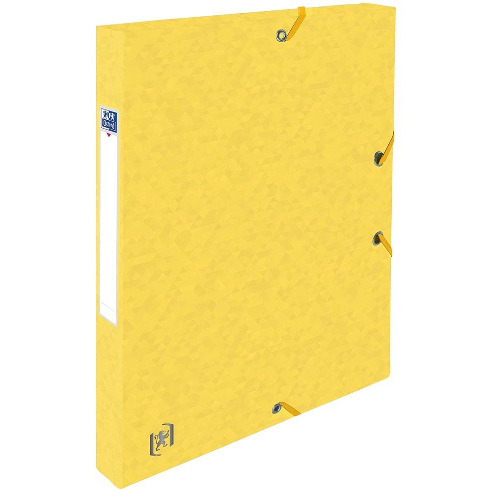 Mapa din carton cu elastic, 25mm latime, OXFORD Top File