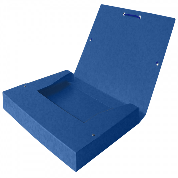 Mapa carton cu elastic, 40mm latime, OXFORD Top File