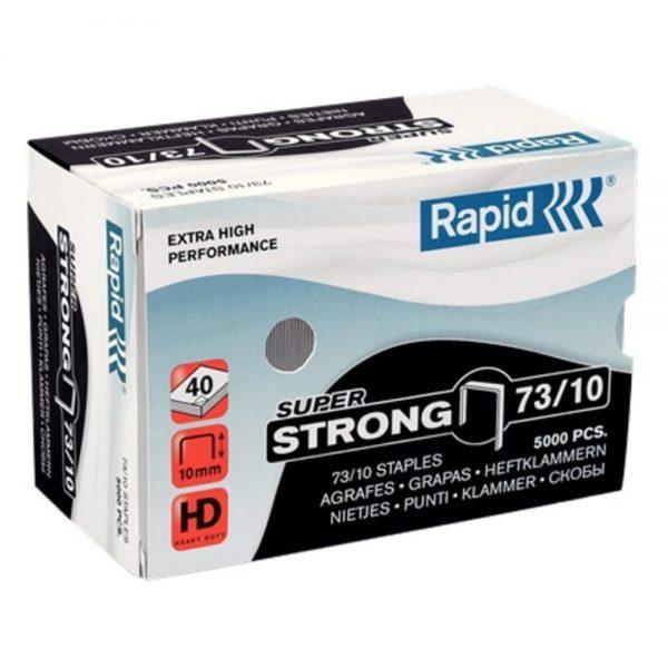 Capse capsator Rapid HD 31 Super Strong, 73/10, 10-40 coli, 5000 buc/cutie