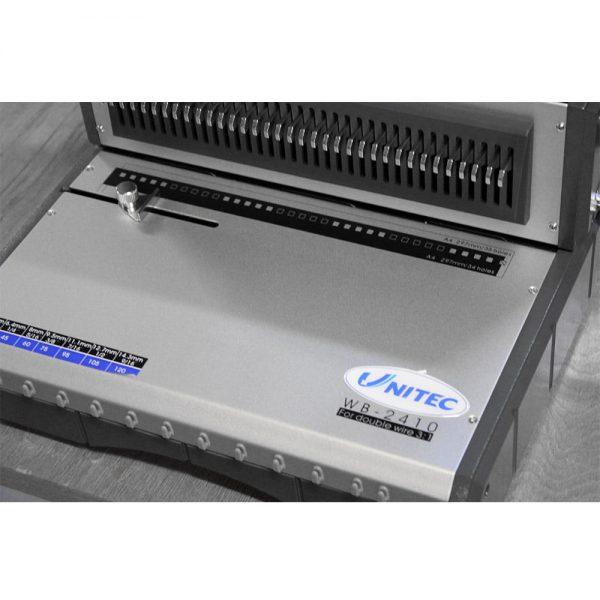 Aparat de indosariat cu spira metalica UNITEC WB2410