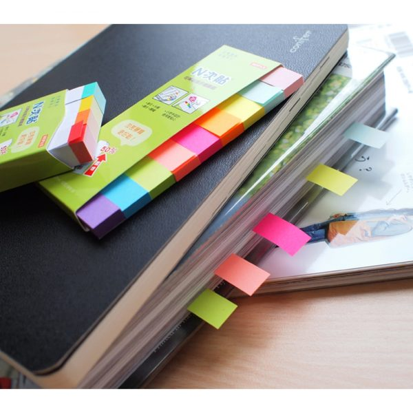 "Index hartie color 50 x 12 mm, 9 x 50 file/set, Stick""n"