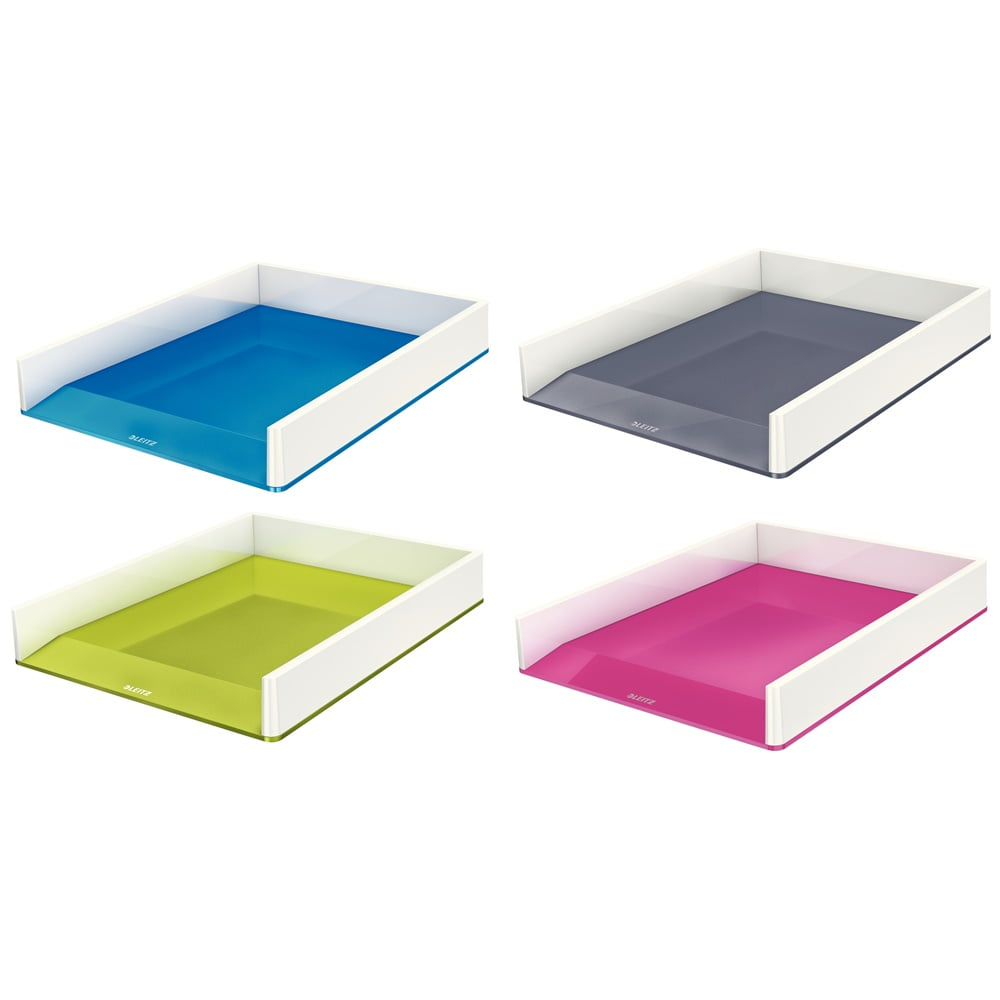 Tavita pentru documente, Leitz Wow culori duale