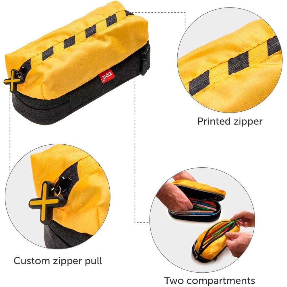 Penar cu fermoar ZIPIT Metro - galben