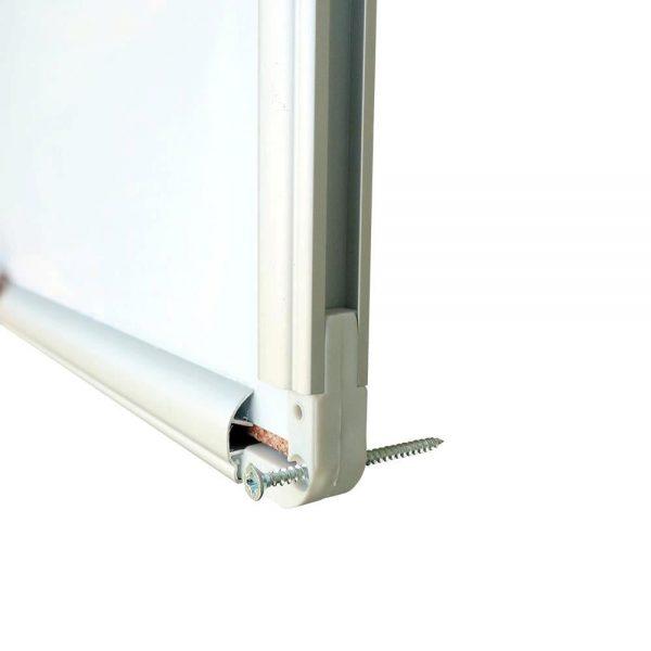 Tabla magnetica 120 x 200 cm, Noki INT-606, rama aluminiu