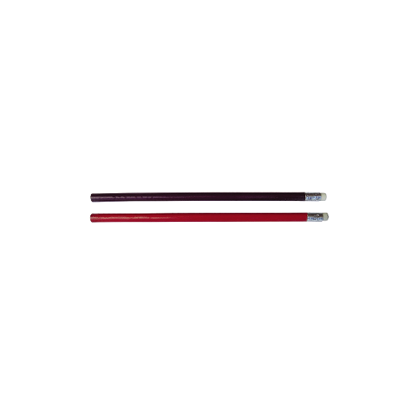 Creion grafit HB cu radiera, varf neascutit, 12 buc/set