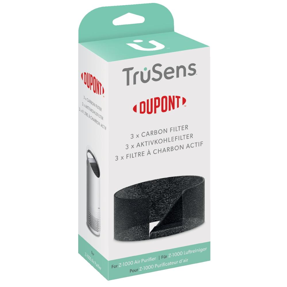 Rezerva filtru pentru purificator LEITZ TruSens Z-1000, 3 buc/set, negru