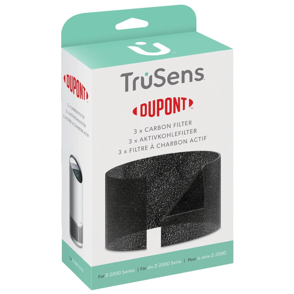 Rezerva filtru purificator LEITZ TruSens Z-2000, 3 buc/set, negru