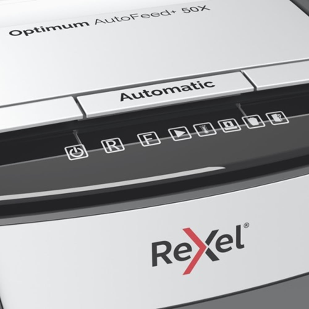 Distrugator documente automat REXEL Optimum AutoFeed+ 50X