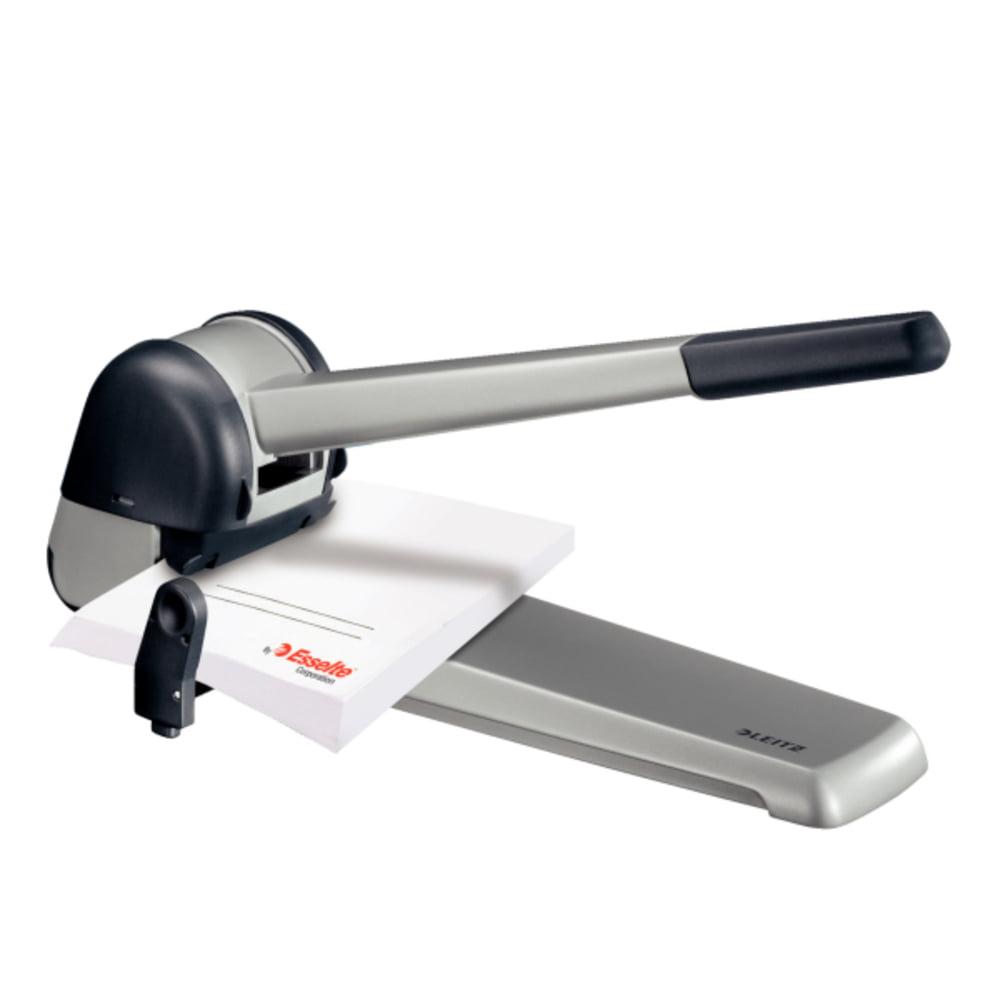 Perforator de mare capacitate, metal, 250 coli, LEITZ 5182