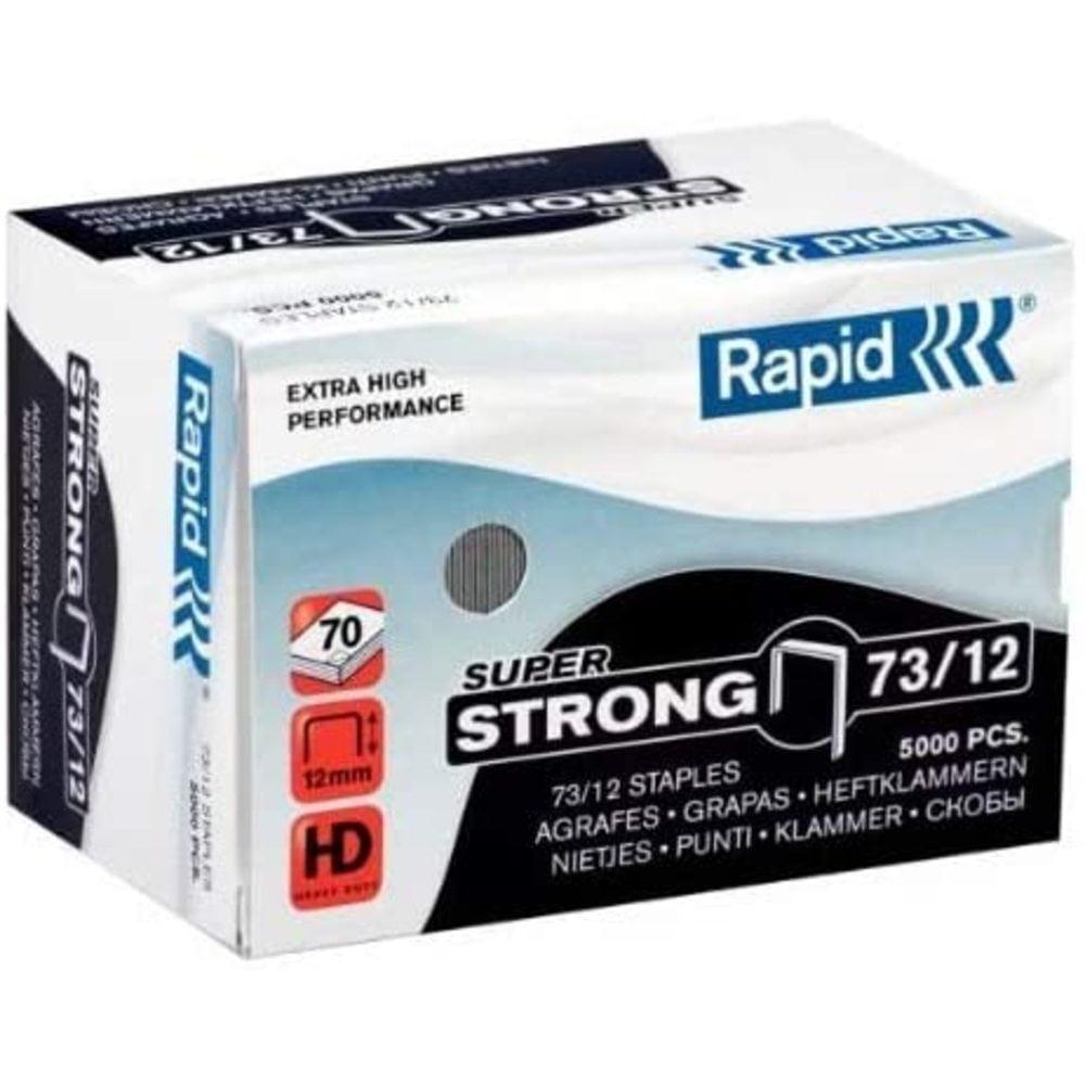 Capse Rapid Super Strong 73/12, 40-70 coli, 5000 buc/cutie