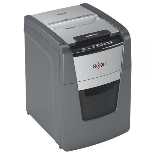 Distrugator documente automat REXEL Optimum AutoFeed+ 100X
