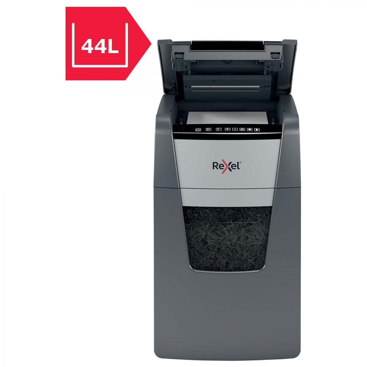 Distrugator documente automat, micro cross-cut REXEL Optimum AutoFeed+ 130M