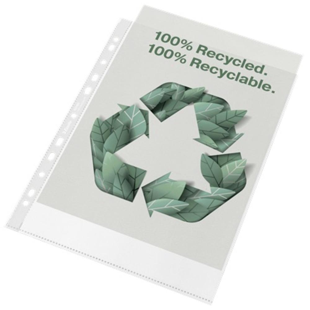 Folie de protectie Esselte Recycled, A4 MAXI, 70 mic, 50 buc/cutie