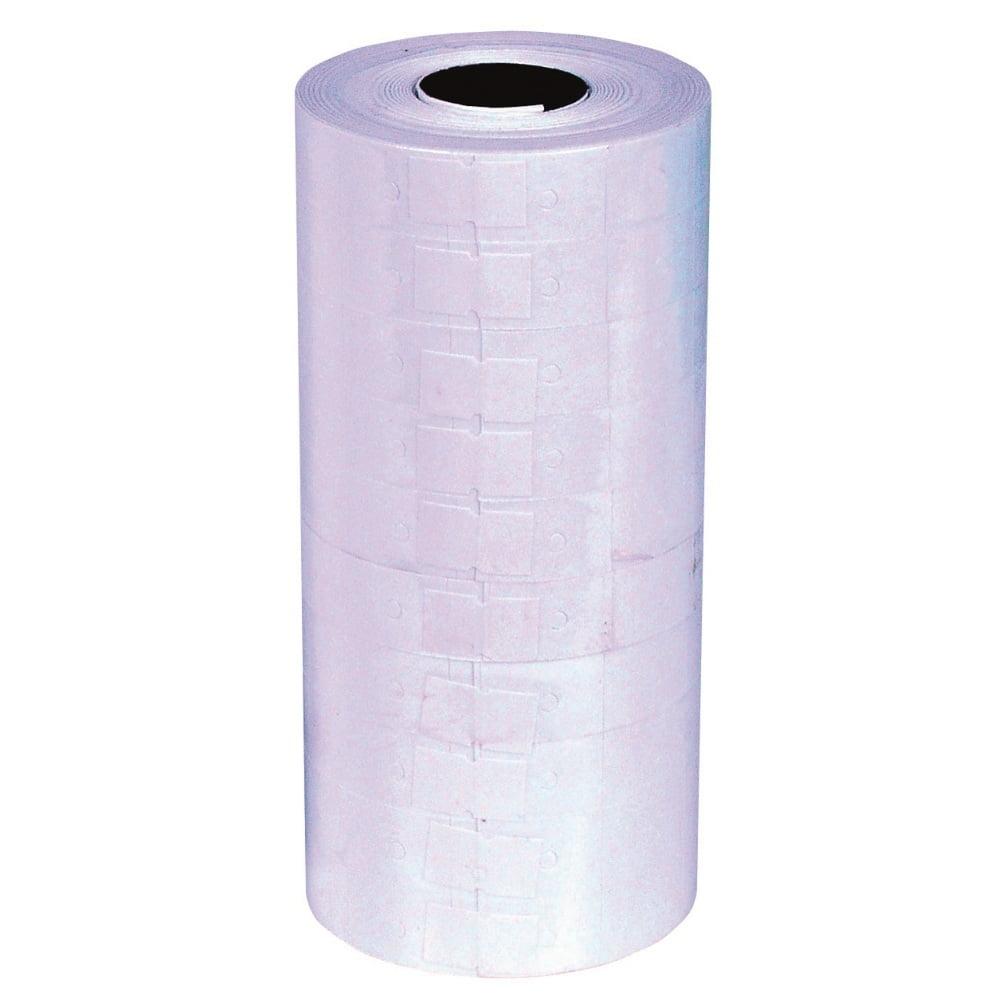 Etichete de pret 23x16 mm, 2 randuri, adeziv permanent, 1000buc/rola