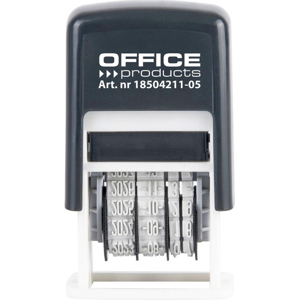 Datiera plastic, cerneala neagra, Office Products