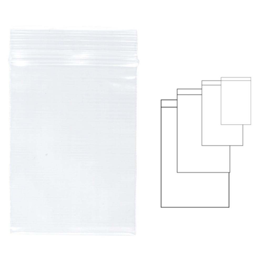 Pungi plastic pentru sigilare, 80 x 120 mm, 100 buc/set, KANGARO