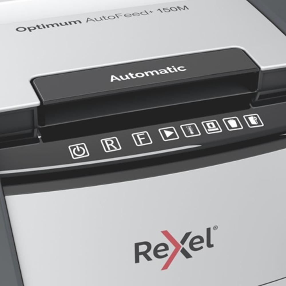 Distrugator documente automat REXEL OPTIMUM AutoFeed+ 150M
