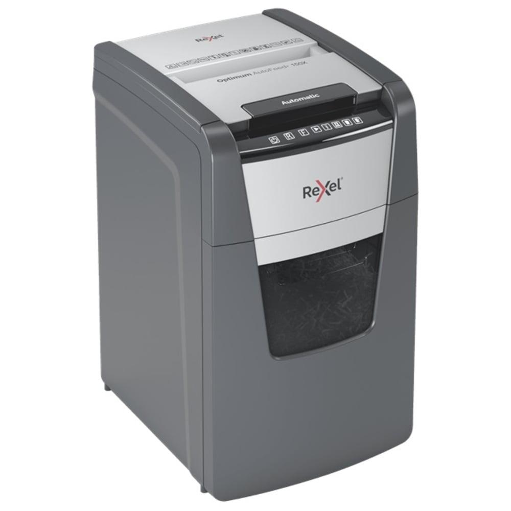 Distrugator documente automat REXEL OPTIMUM AutoFeed+ 150X