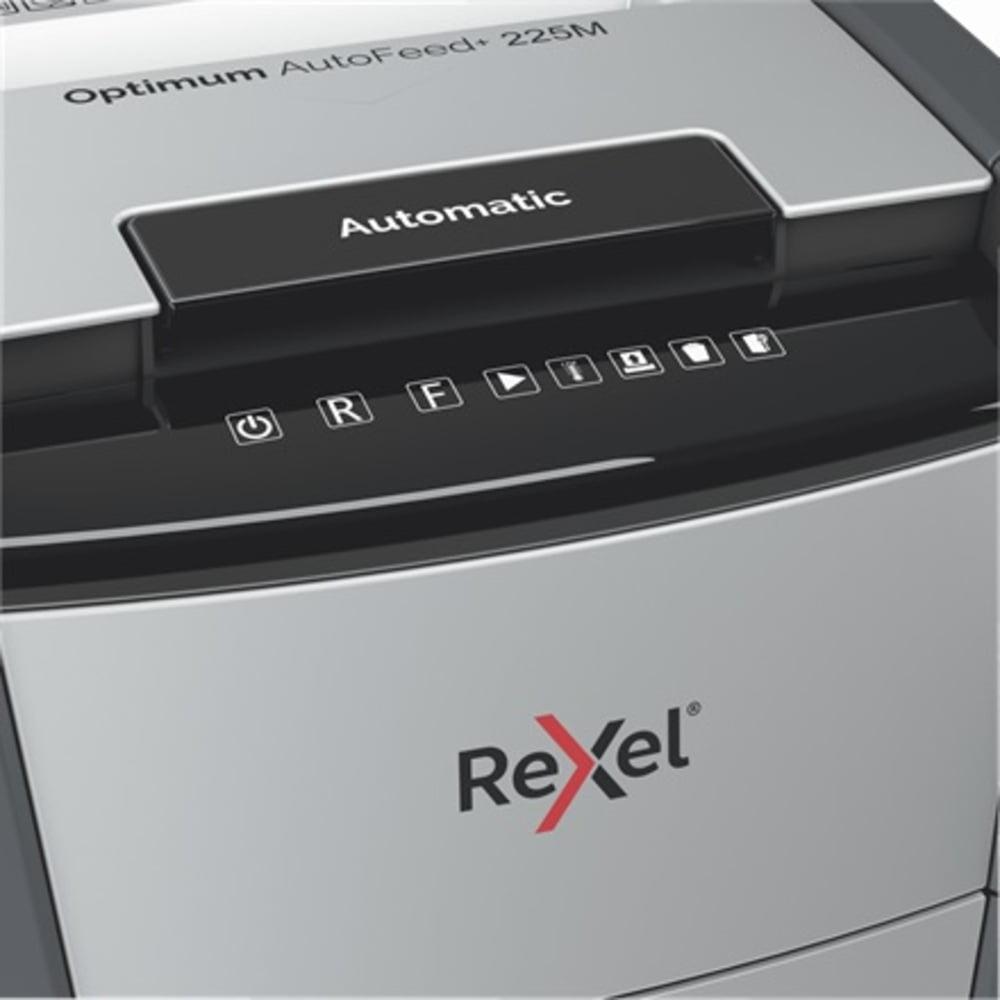 Distrugator documente automat REXEL OPTIMUM AutoFeed+ 225M