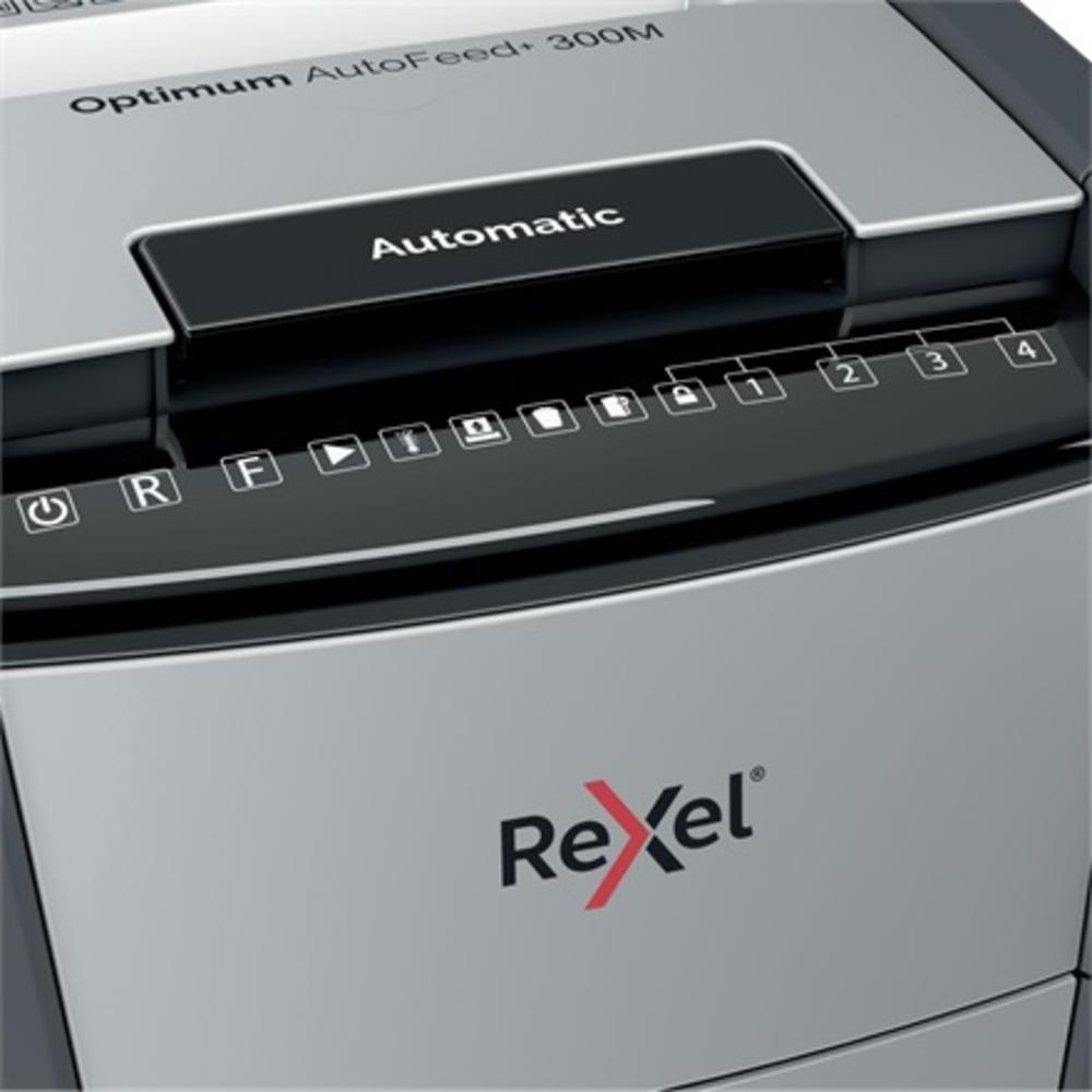 Distrugator documente automat REXEL OPTIMUM AutoFeed+ 300M