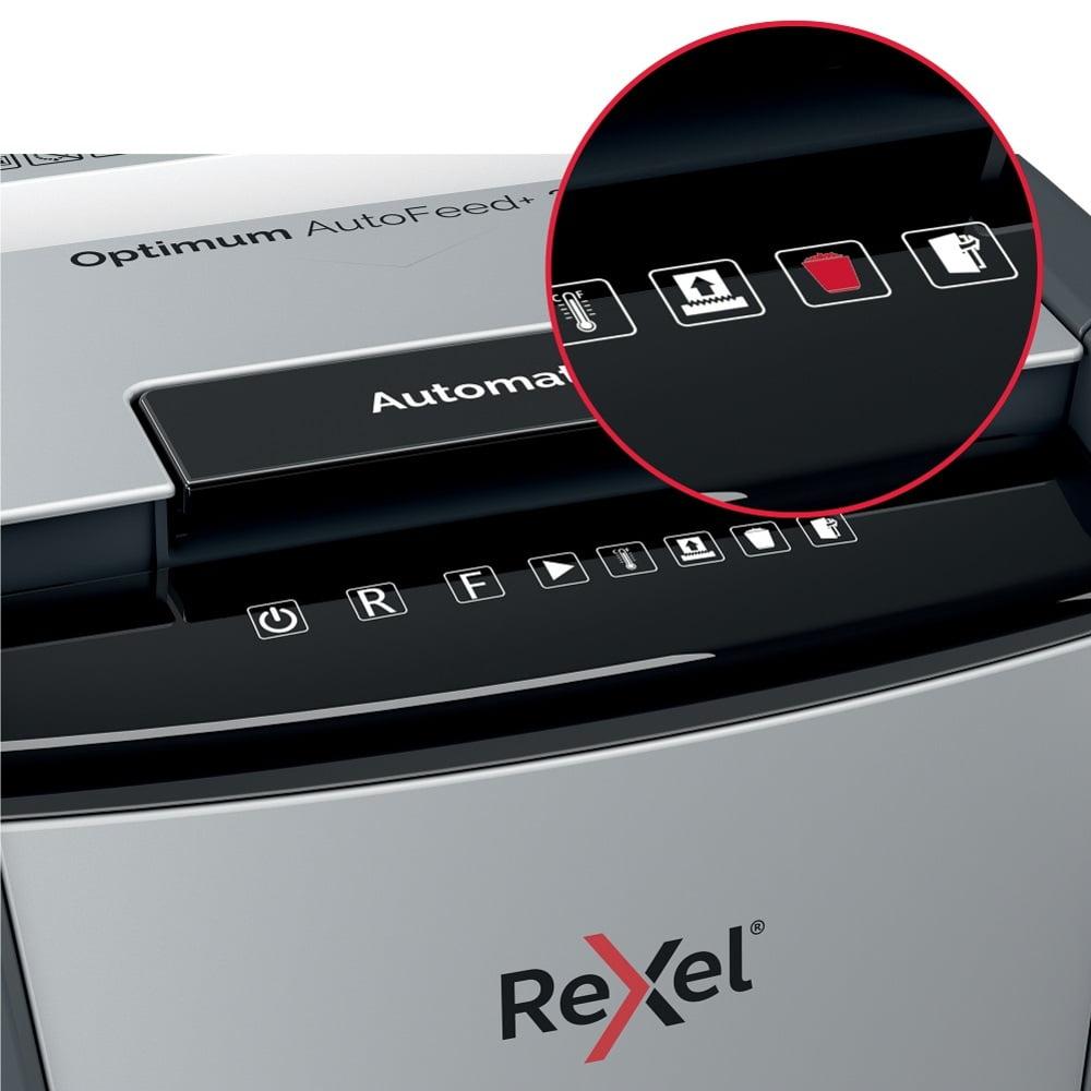 Distrugator documente automat REXEL OPTIMUM AutoFeed+ 600M