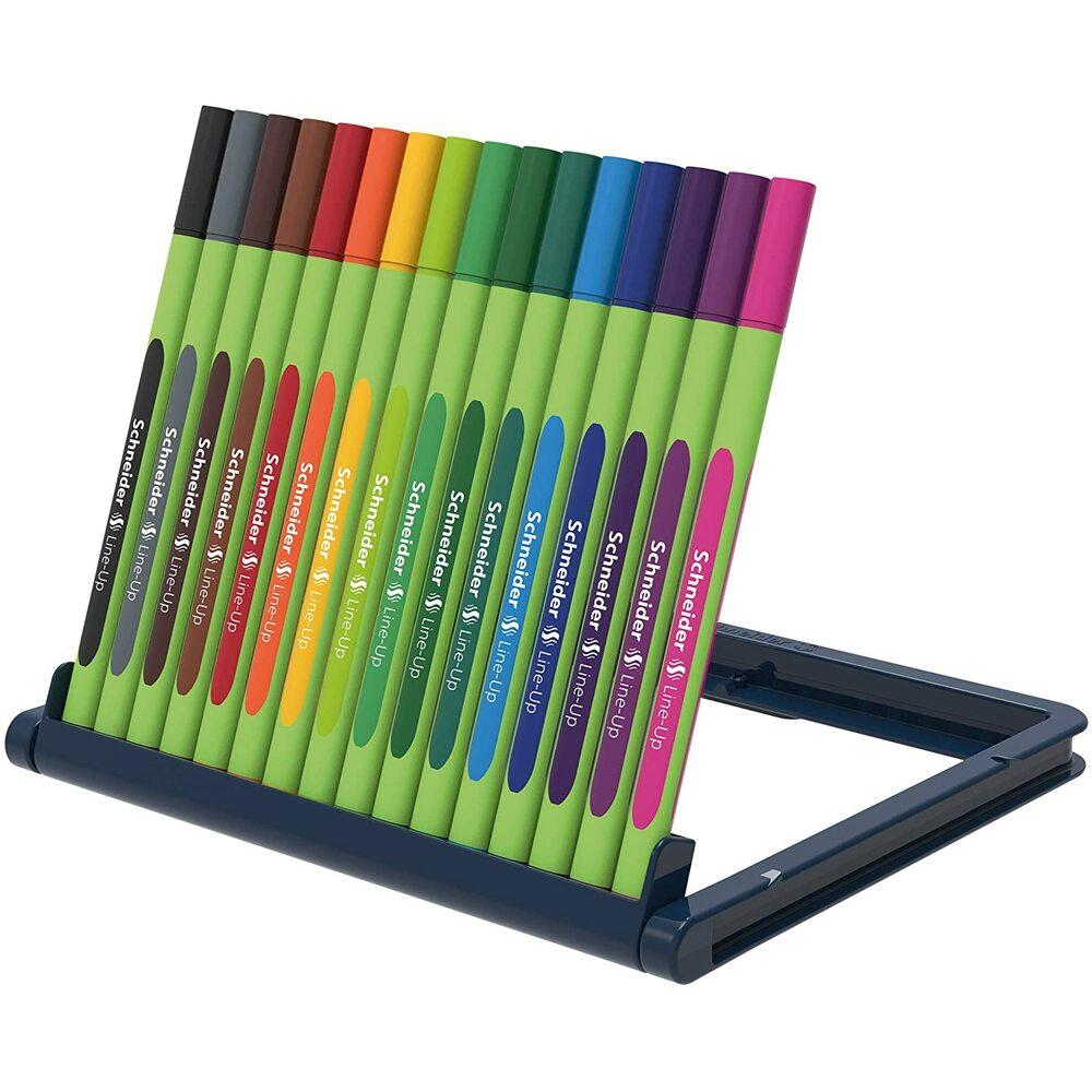 Liner varf fetru 0.4mm, SCHNEIDER Line-Up,16 culori/set
