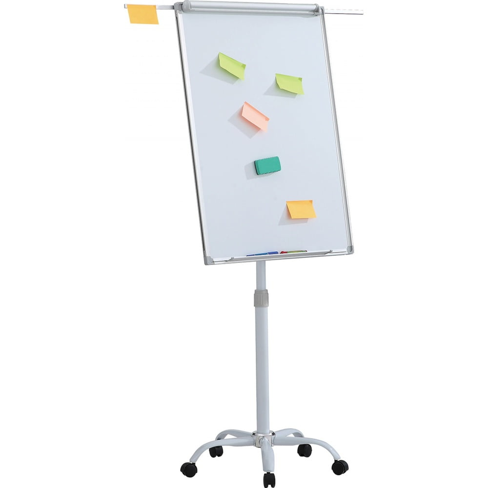 Flipchart magnetic mobil, brate extensibile si rotile, 100 x 70 cm, Office Products